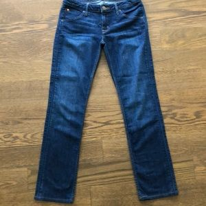 Hudson straight cut jeans